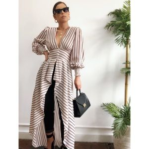 Tops - 🆕Dean Striped Duster Blouse